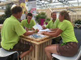 "Willemstein Hoveniers team voted ""Best Green Team at Plantarium"""