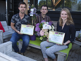 Hydrangea macrophylla Three Sisters® and Clematis 'Taiga'® win Press Award at Plantarium 2016