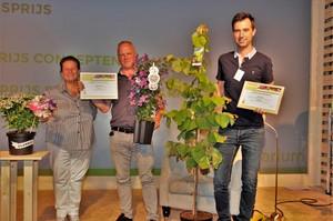 Das FleuraTerrazza-Konzept und Cercis canadensis 'The Rising Sun' gewinnen Pressepreis der Plantarium 2017