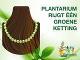 Plantarium rijgt een groene ketting