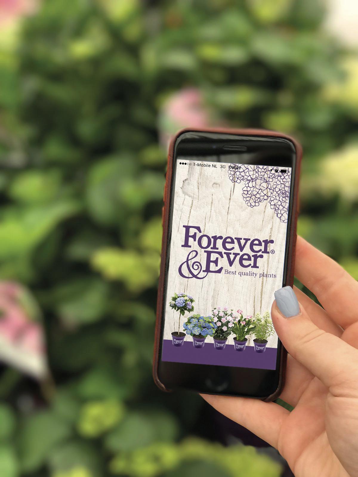 Forever&Ever onderhouds- en verzorgingsapp